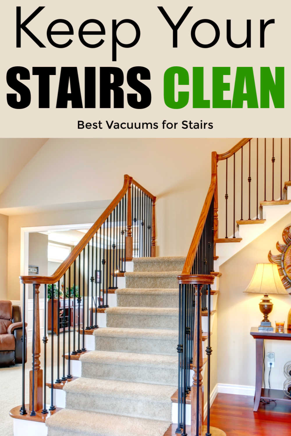 Best Vacuum Cleaners For Stairs - Portable and Cordless