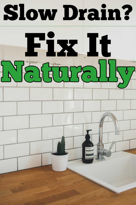 Natural Homemade / DIY Drain Cleaners