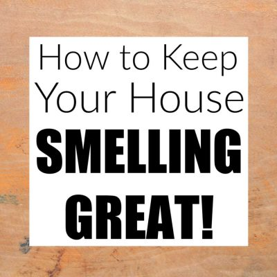 Learn How To Make Your House Smell Good Naturally