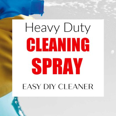 Homemade Heavy Duty Cleaning Spray