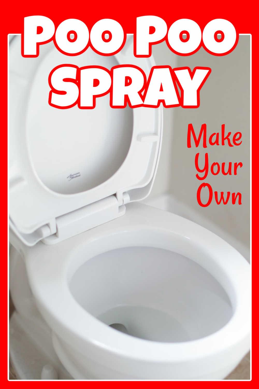 DIY Poo Poo Spray